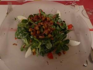 Feldsalat Restaurant Flügelrad