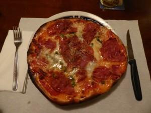 Pizza R&R mit Rohschinken