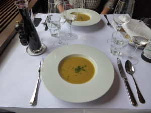 Rosenkohlsuppe Brasserie Obstberg