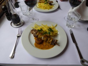 Fleischspiess Brasserie Obstberg