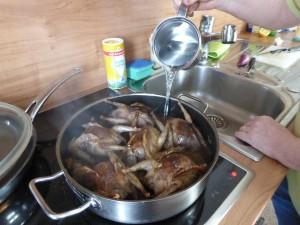 Zubereitung Tauben