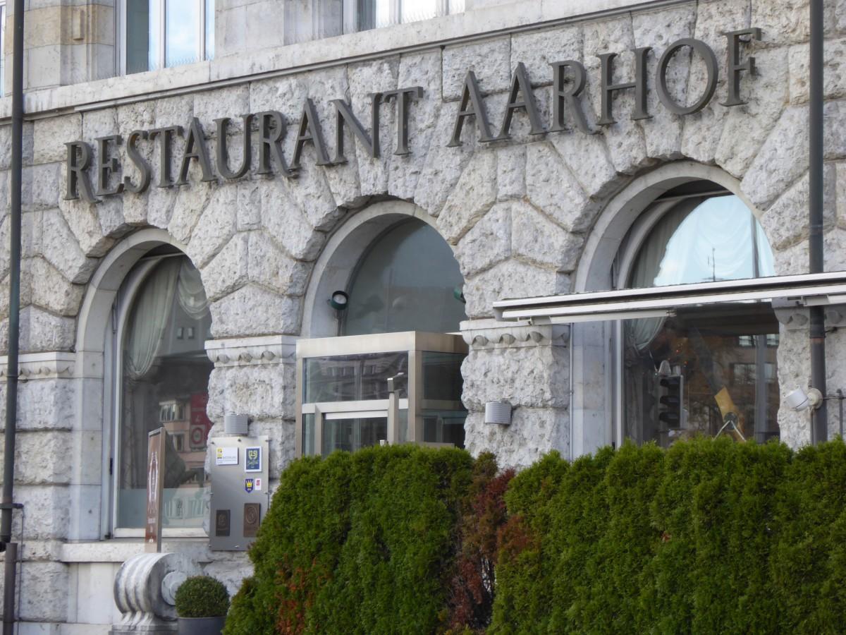 Restaurant Aarhof Aussenansicht