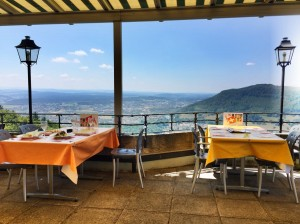 Ausblick von der Terrasse Säli-Schlössli