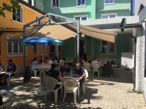 Aussenbereich Restaurant Wartburg Olten
