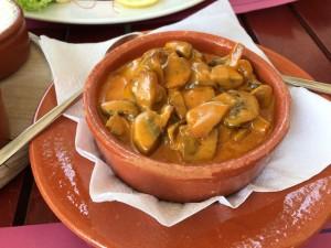 El Gaucho Vorspeise Pilze an pikanter Sauce