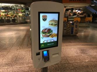 Bestellstation McDonald's Bhf Bern